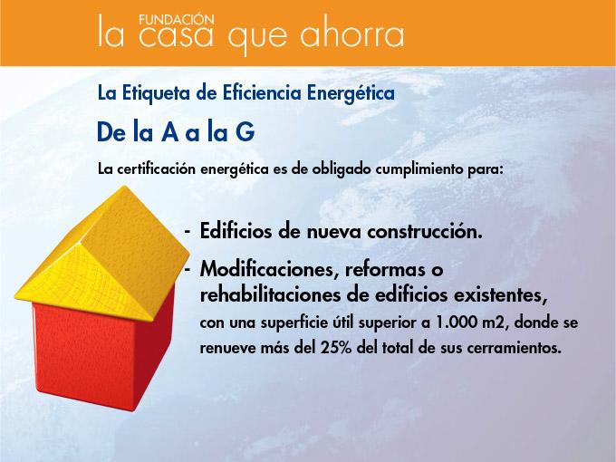 Fundación La Casa Que Ahorra Eficiencia Energética En Edificación